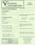 CVC Agency Evaluation form