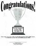 Montgomery Ward sales award