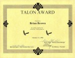 LHF Talon Award for JC Penney