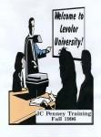Levolor University, JC Penney training, cover