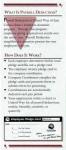 UW-ECI Payroll Deduction brochure, inside 1