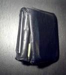 Zebra Pen at home, snuggly in wallet