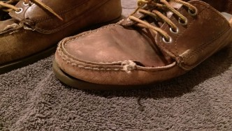 Distraught L.L. Bean Blucher Moc